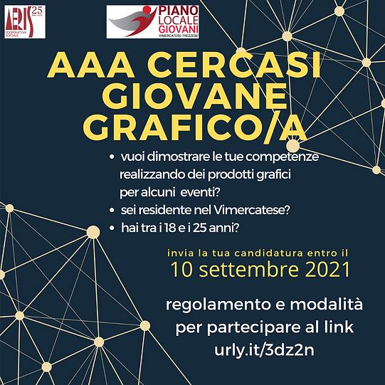 AAA CERCASI GIOVANE GRAFICO/A