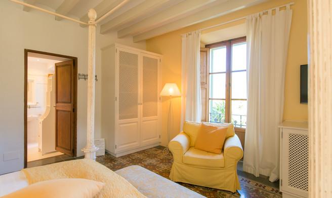 Doppelzimmer Damasco FincaHotel Can Coll