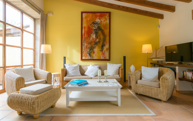 Suite Limon FincaHotel Can Coll