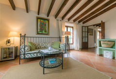 """FincaHotel Can Coll Suite """"Oliva"""" Wohnzimmer"""