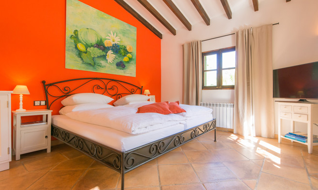 Superior Doppelzimmer Caqui FincaHotel Can Coll