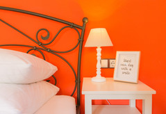 """FincaHotel Can Coll Superior Doppelzimmer """"Caqui"""""""