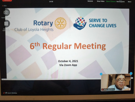 6th RCLH Regular Meeting