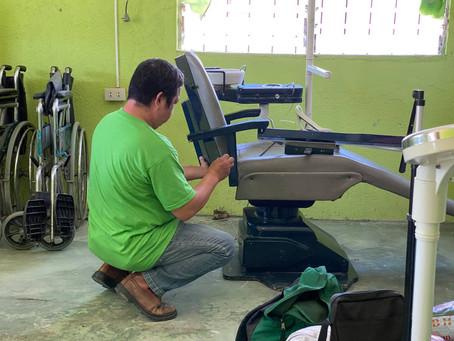 Installation of Dental Chair