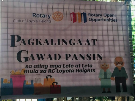 Pagkalinga at Gawad Pansin - Loyola Heights