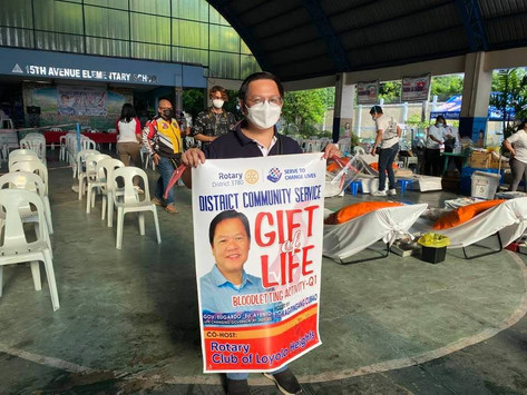 District Community Service: Gift of Life