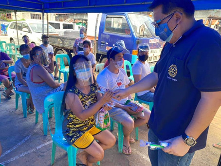Tulong Pandemya: Tinapay para kay Nanay at Tatay