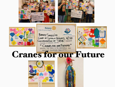 Cranes for our Future