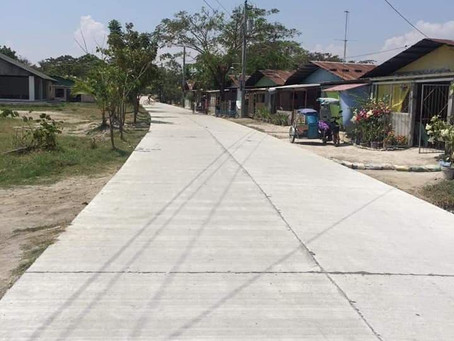 Concrete Road Completion in Betis