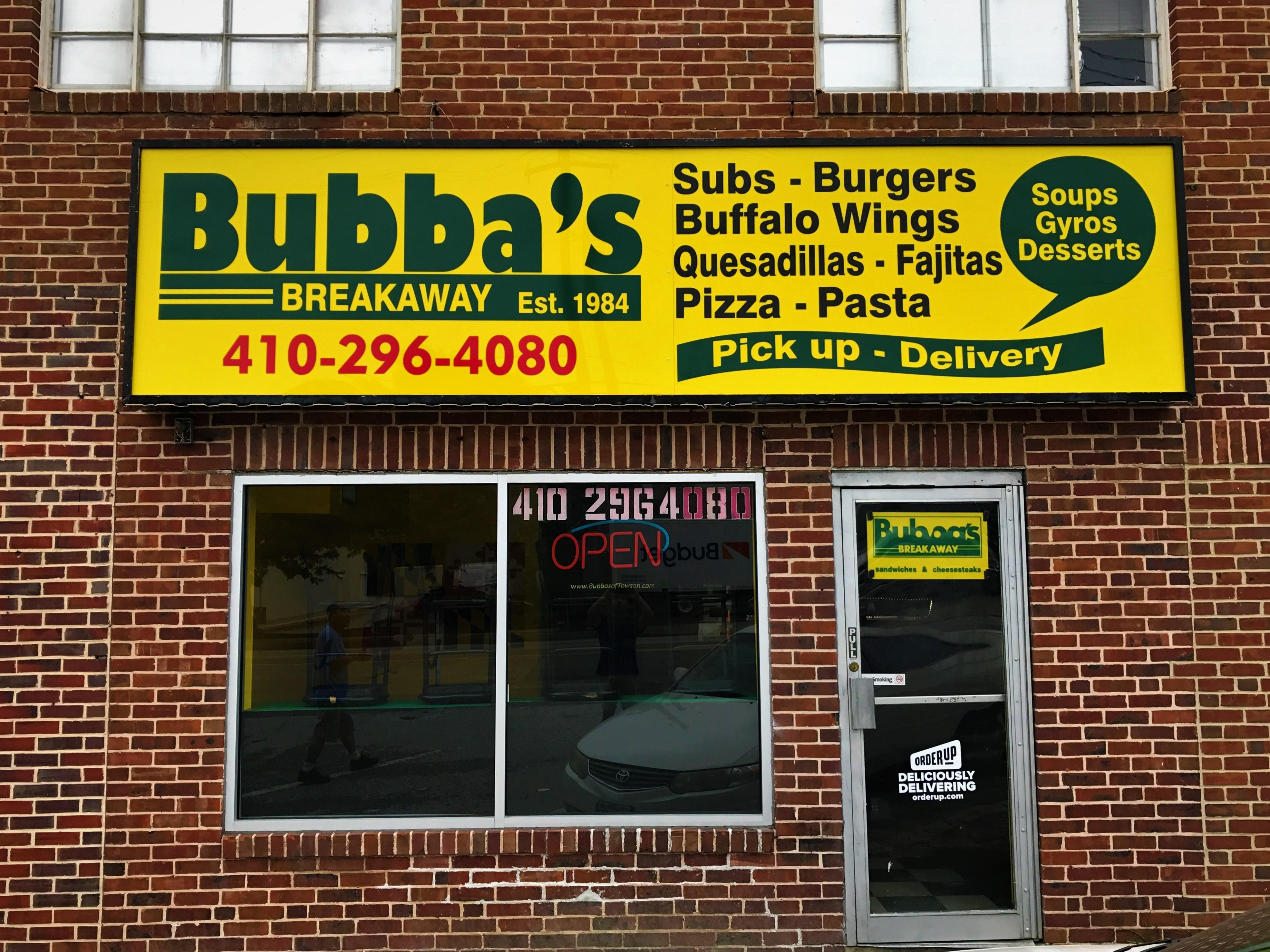 Bubba's Breakaway