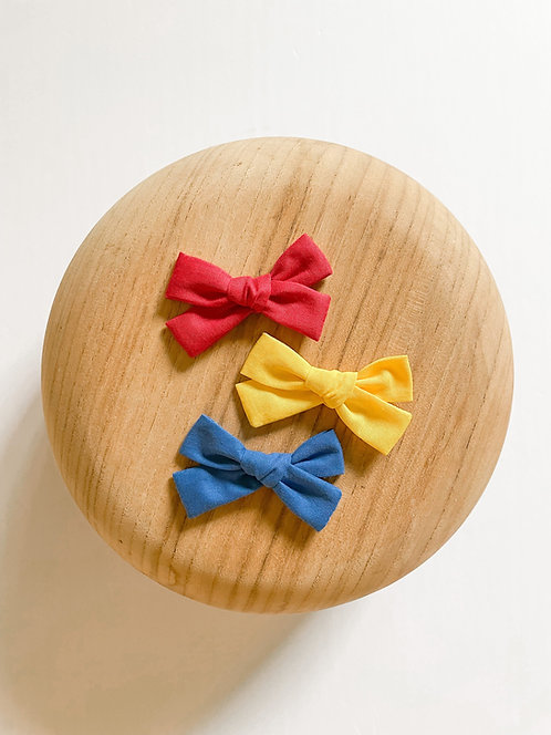 Primary Bow Set   Little Miss Bows
