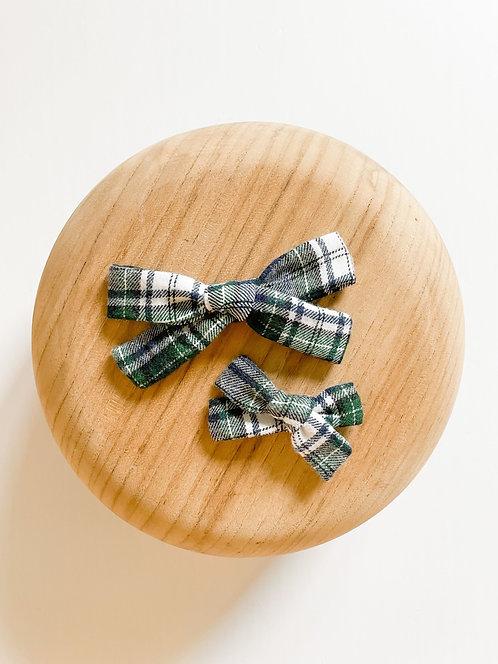 LTD Aspen | Plaid Flannel Hair Bows