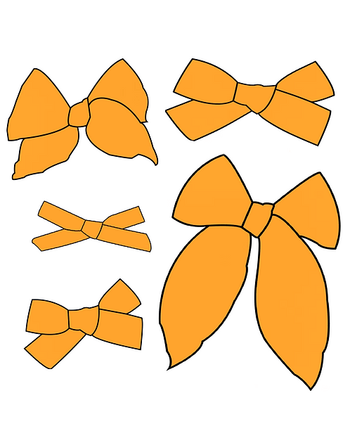 Goldenrod | Sunny Yellow Solid Bows