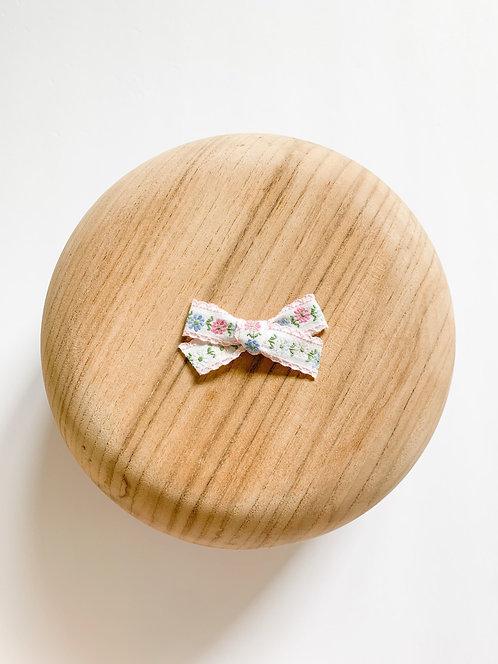 Winnie | Pastel Floral Ribbon Bow