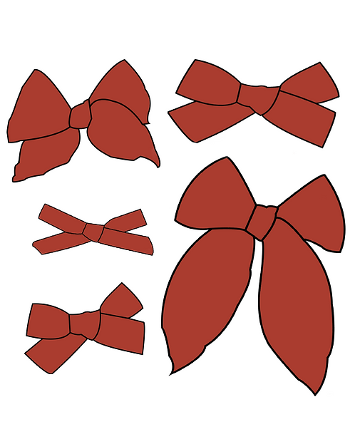 Rust | Warm Red Solid Bows