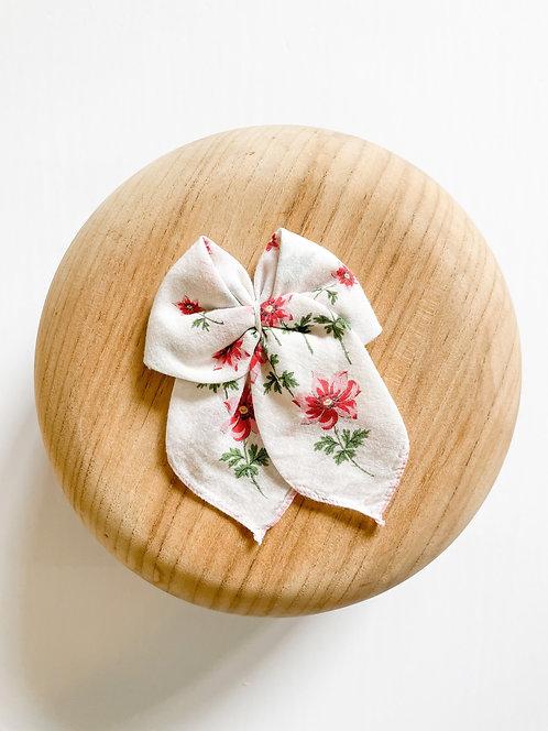 RTS Philomena   Vintage Handkerchief Bow
