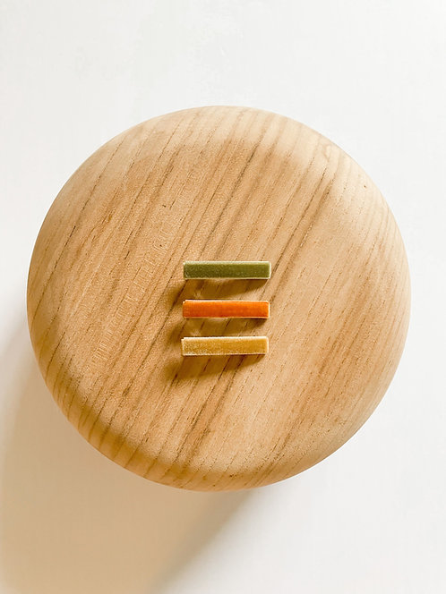 *Wholesale* Autumn Velvet Bar Clip Set
