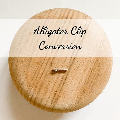 Alligator Clip Conversion