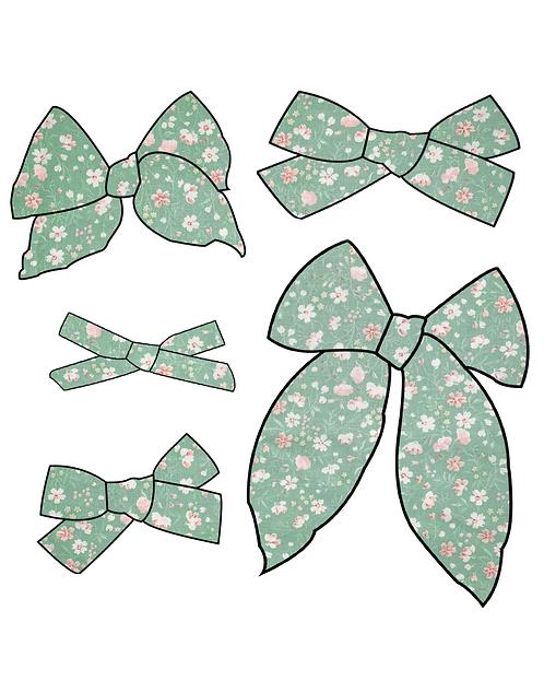 Eva   Sage Green Floral Bows