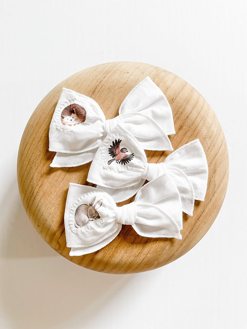 LTD Woodland Animal Appliqué | Mini Missy Bows