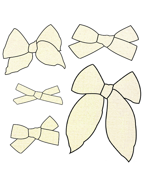 Buttercup | Yellow Swiss Dot Bows