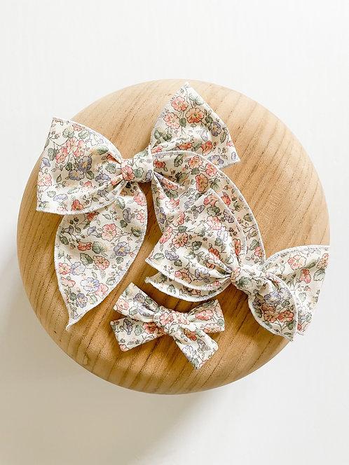 LTD Avery | Pastel Floral Hair Bows