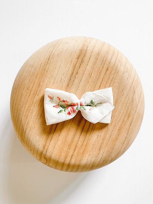 RTS Bonnie | Vintage Handkerchief Bow