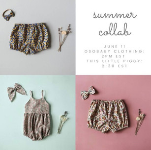 OsoBaby Clothing Summer Collab