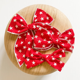 Red, White, and Bows!