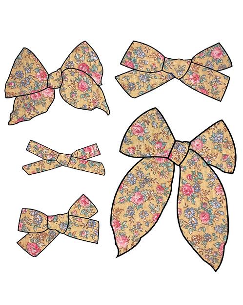 Marigold | Warm Yellow Floral Bows