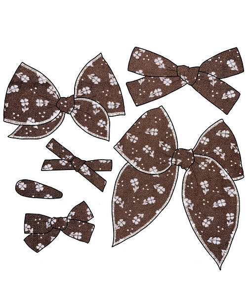 Willow | Fall Floral Hair Bows
