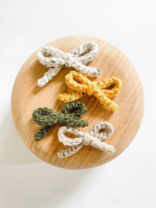 LTD Knit Bows