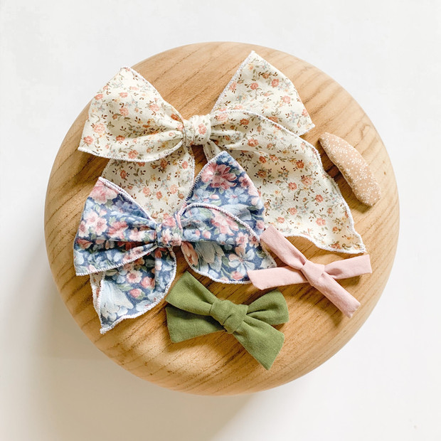 Fabric Bows & Clips