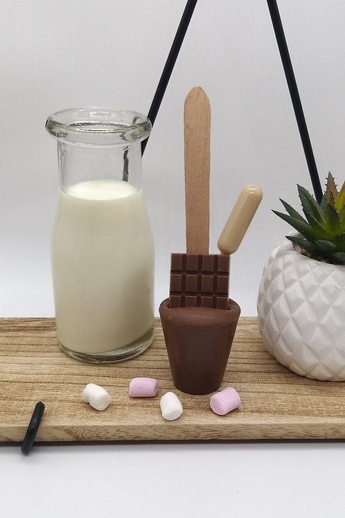 Milk Chocolate Spoonz with Irish Cream Liqueur