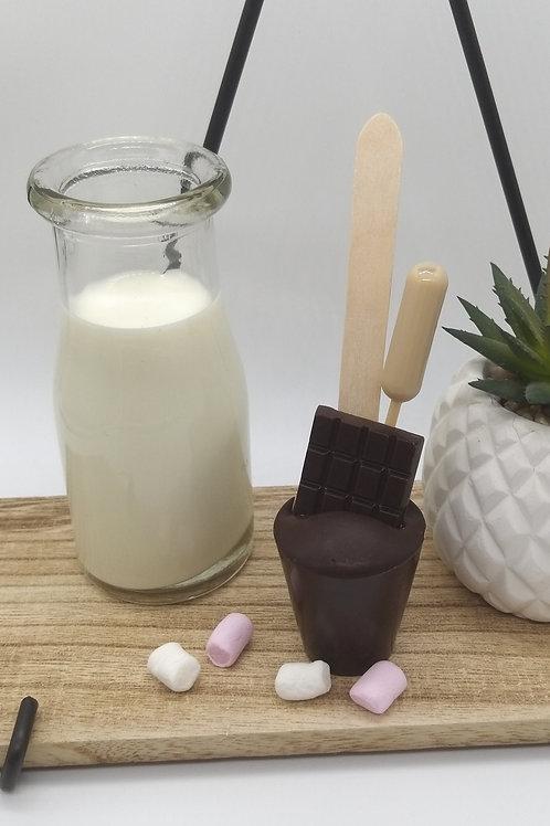 Dark Chocolate Spoonz with Irish Cream Liqueur