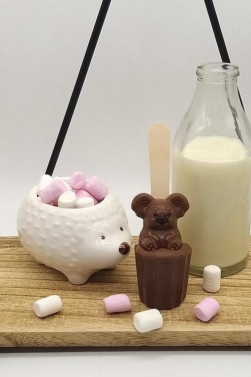 Milk Chocolate Kids Spoonz with Koala