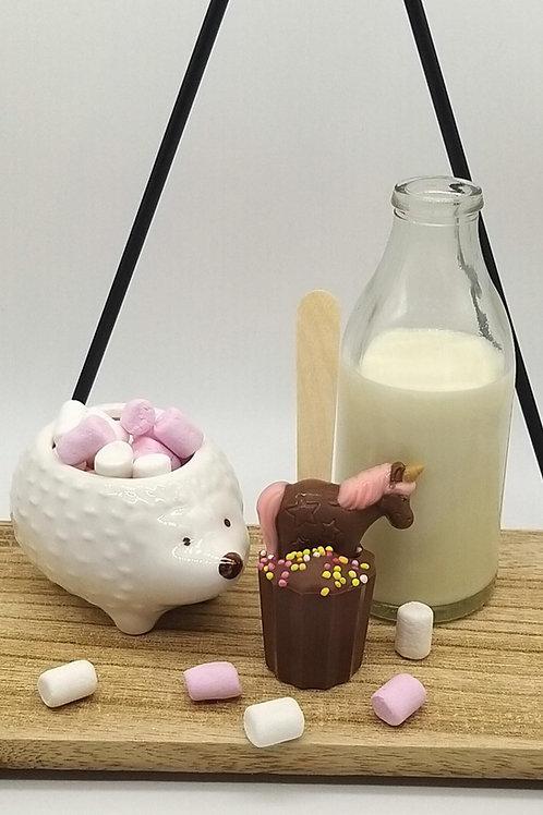 Milk Chocolate Kids Spoonz with Unicorn