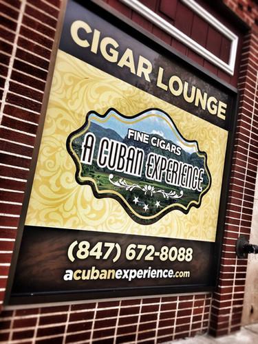 Signs - Window Perf -Cuban Experience.jp