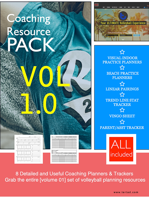 Volleyball Coaching Resource Pack (vol 1)