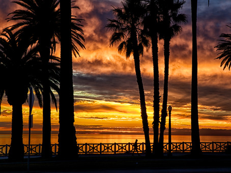 Photography Project (Palisades Park Sunset) - December 2012