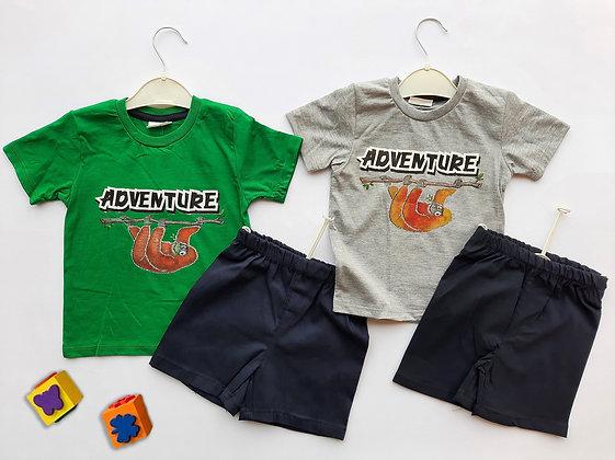 8 Pack Toddler Boys 2-Pcs Set (1y-4y) - £2.80