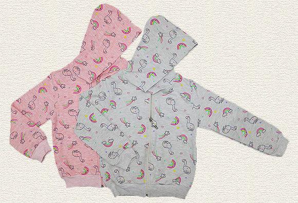8 Pack Girls Hoodie (3y-9y) - Per item: £3.25