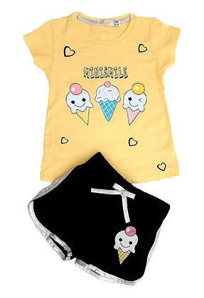 16x Toddler T-Shirt/Short Sets / £3 per set