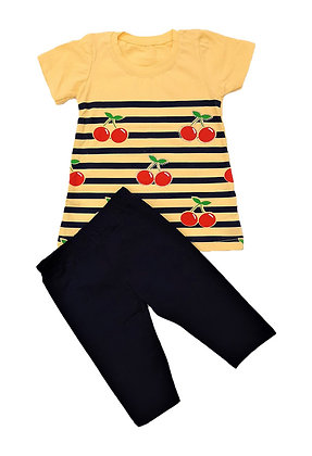 16x Girls T-Shirt/Midi Leggings Sets / £2.90 Per Set