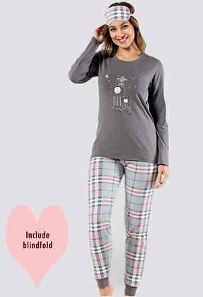 4x Ladies Cotton PJ Set (S-M-L-XL)