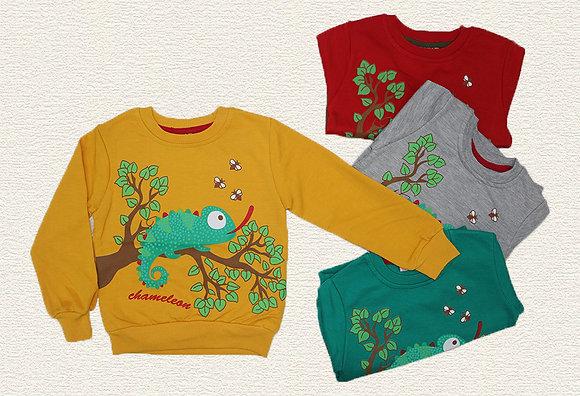 16 Pack Boys Sweatshirt (2y-8y) - Per item: £2.25