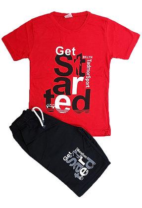 16x Boys T-Shirt/Short Sets - £3 per set