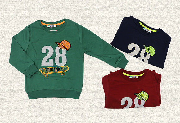 15 Pack Boys Sweatshirt(2y-6y) - Per item: £2.50