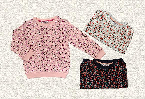 15 Pack Girls Sweatshirt (3y-7y) - £2.50