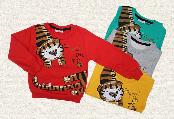 16 Pack Boys Sweatshirt (2y-8y) - Per item: £2.25